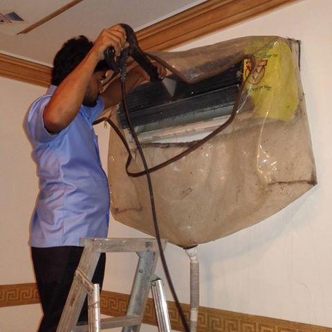 شركة تنظيف مكيفات بالمدينة المنورة مع الصيانة