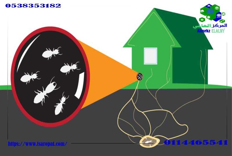 الفرق بين النمل الأبيض والنمل الاسود, الفرق بين النمل الأبيض والنمل الاسود و شكل فضلات النمل الأبيض, شركة المركز العالمي