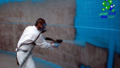 عزل خزانات المياه, عزل خزانات المياه الخرسانية من الداخل والخارج, شركة المركز العالمي