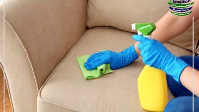 كيفية تنظيف الكنب من الغبار بسرعة