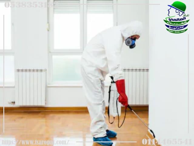 خدمات مكافحة الحشرات والقوارض