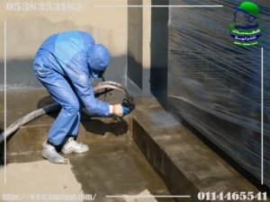 عزل خزانات بالرياض مع الضمان بافضل مواد العزل